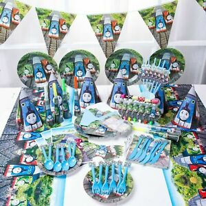 Thomas The Tank Engine Train Birthday Party Tableware, Decorations and Balloons
