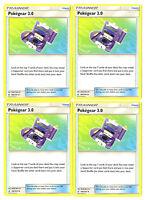 Pokemon Trainer Set - Pokegear 3.0 Unbroken Bonds 182/214 - 4 Card Lot Playset