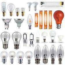 GU10, Candle, Golf Ball, GLS, G4 Halogen, LED, Appliance Household Light Bulbs