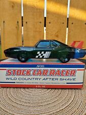 Avon 1972 Stock Car Racer Wild Country After Shave 5 Fl. Oz.