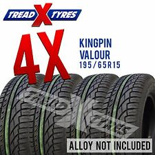 4x 195/65r15 Kingpin Tyres 195 65 15 Four Tyres Fitting Available x4