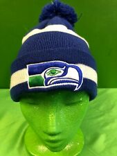 WH251 NFL Seattle Seahawks New Era Throwback Retro Woolly Bobble Hat Adult OSFA
