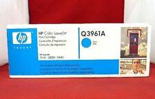 Q3961A 122A Genuine HP Cyan Toner Color LaserJet 2500L 2550LN 2550 2800 2820 $