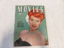 VINTAGE November 1944 Movies Magazine - LUCILLE BALL Cover