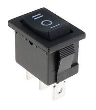 (el) apagado (en) Interruptor 3 posición momentánea Rectángulo coche Dash Barco SPDT 12V