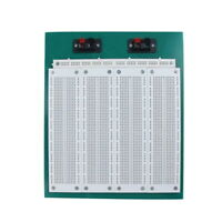 2800 Tie Point Solderless Electronic Breadboard Prototyping 25 x 20 x 2.5 cm