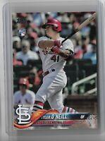 Tyler O'Neill St Louis Cardinals 2018 Topps Update Series SSP Variation RC US218