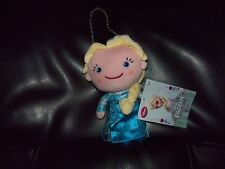 """DISNEY STORE FROZEN ELSA PLUSH DOLL COIN PURSE WITH CHAINS 7"""" LAST ONE"""
