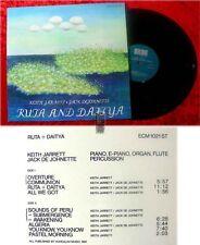 LP Keith Jarrett & Jack DeJohnette: Ruta and Dajtya