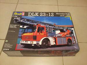 Revell 1/24 DLK 23-12 Mercedes Benz 1419/1422 Ladder Firetruck - Box Sealed