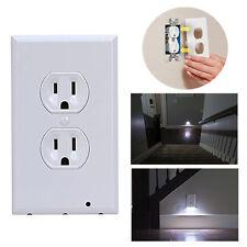 Plug Cover LED Capteur Nuit Angel Mur Outlet Face Couloir Chambre Safty Light NF