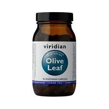 Viridian Olive Leaf Extract, 90 TAPPI Veg