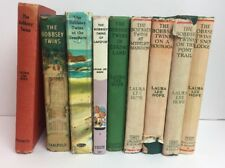 The Bobbsey Twins By Laura Lee Hope Hardcover Lot Of 9 Books