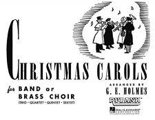 Christmas Carols for Band or Brass Choir 1st Bb Clarinet Instrumental  004475550