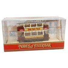Matchbox Models of Yesteryear Y15d 1920 Preston Type Tram