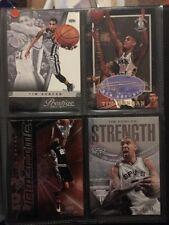 Tarjetas de baloncesto de la NBA Tim Duncan inserciones raras