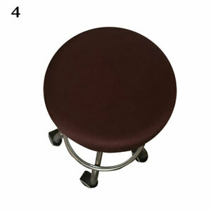 Round Chair Cover Bar Stool Cover Floral Printed Seat Covers Home Accessories