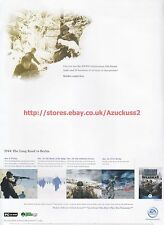 Medal Of Honor Allied Assault Spearhead EA Games 2002 Magazine Advert #7033