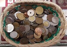 B-D-M Lote variado de 100 monedas del mundo circuladas.