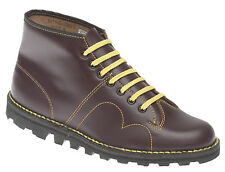 Leather Monkey Boots by Grafters Black or Brown Sizes 3 to 12