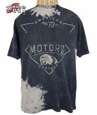 NWT AFFLICTION Black Eclipse Tie Dyed T-Shirt Mens 2XL