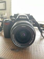 Nikon D D40 6.1MP Digital SLR Camera - Black (Kit w/ AF-S DX 18-55mm Lens)