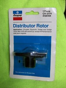 Mopar NOS Distributor Rotor 60-78 Charger Cuda Challenger Super Bee Duster Fury