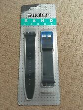 SWATCH WATCH STRAP, Large, Blue/Green Translucid In Sealed Original pack.