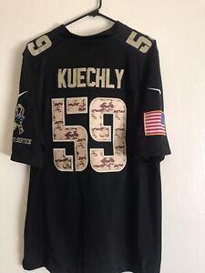 Luke Kuechly Carolina Panthers Large Black 59 Nike