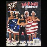 WWF Wrestling Magazine WWE Wrestler Chyna HHH Road Dogg DX July 1998