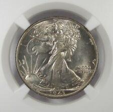 1943-P Silver Walking Liberty Half Dollar NGC MS64 Coin AI930