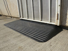 "SILVER SPRINGS 2"" SOLID RUBBER WHEEELCHAIR THRESHOLD  RAMP~MAKE US AN OFFER~"