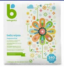 Babyganics Fragrance-Free Face, Hand and Baby Wipes