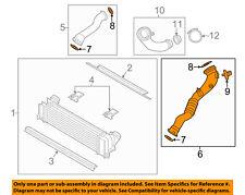 BMW OEM 11-16 X3 3.0L-L6 Intercooler-Air Intake Duct Hose Tube Left 13717604033