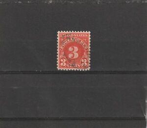 USA 1930-31 Postage Due 3 Cent Carmine Used