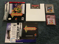GBA & GameBoy Lot CastleVania Classics complete in box, Kirby Tilt n Tumble +1
