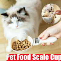 Pet Food Measuring Scoop Scale Cup Dog Cat Diet Balance Feeding Bowl Spoon NEW