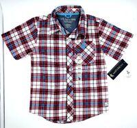 U.S. Polo Assn. Boys' Short Sleeve Engine Red Shirt