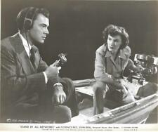 """Florence Rice & John Beal """" Stand By All Networks """"  Vintage Movie Still"""