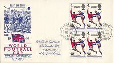 Football Used Great Britain First Day Covers