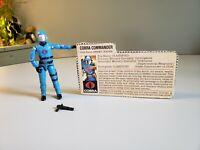 "gi joe 1982-1983 cobra commander custom cast head /""CLEAR/"""