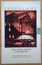 The Millionairess programme Manchester Opera House 1952 Katharine Hepburn
