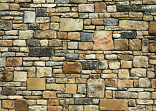 ! 9 Sheets Embossed Bumpy Brick stone wall 21x29cm Scale G 1/24 Code R9977U!