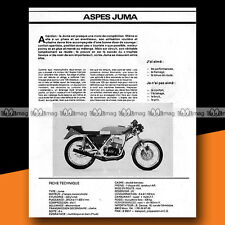 ★ ASPES 125 JUMA ★ 1978 Essai Moto / Original Road Test #a150