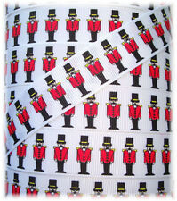 7/8 CHRISTMAS OH SO NUTCRACKER GROSGRAIN RIBBON OH MY GOSH GOODIES DESIGNER