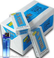 2400 Filtri Rizla Ultraslim 5,5mm 20 Scatole Da 120 Filtri + accendino omaggio