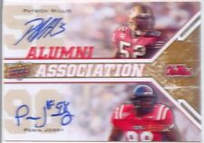 peria jerry rc patrick willis 2x dual auto autograph ole miss rebels #/50 2009