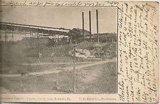 Merchants Coal Company Tipple Boswell PA Postcard 1907