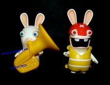 Les LAPINS CRETINS lot figurines Mac Donald mc pvc UBISOFT de 2010 rabbit figure