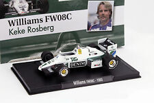 Keke Rosberg Williams FW08C #1 Formel 1 1983 1:43 Altaya